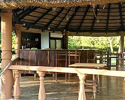 Outdoor bar boma facility at Mhlume Club